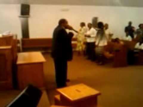Sculark preaching in Robinsonville Mississippi
