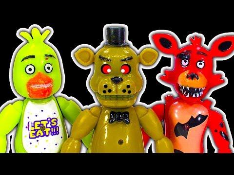 FNaF Dark Side Knock Off Toys Scary Flamethrower Destruction & Jump Scares Episode 1