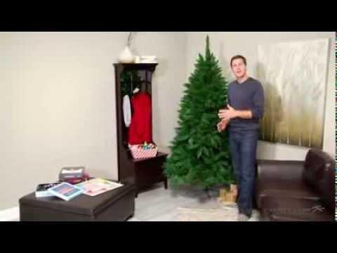 7 ft fairmont pine unlit christmas tree product review video