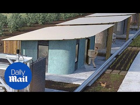 New 3D-printed homes could solve global housing crisis - Daily Mail