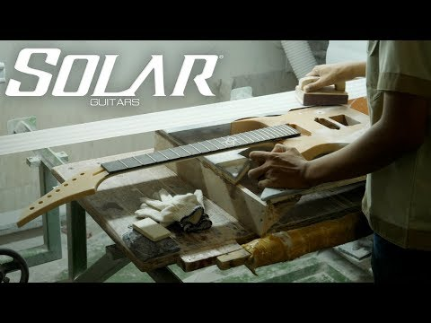 SOLAR Guitars Factory Tour - September 2017