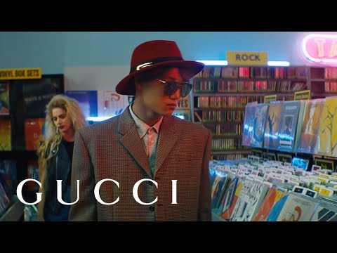 NiNi And KAI In The New Gucci Eyewear Spring Summer 2020 Campaign