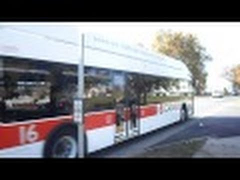 CATA Bus (State College, PA): 2012 New Flyer XN40 Xcelsior (CNG) #16 ~ w/ Cummins ISL-G