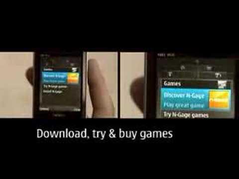 Nokia N81 宣传视频
