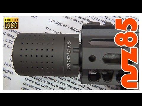 AR-15 - FERFRANS CRD Muzzle Device Installation
