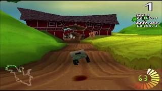RC Revenge (PS1) - Gold Cup 2 gameplay