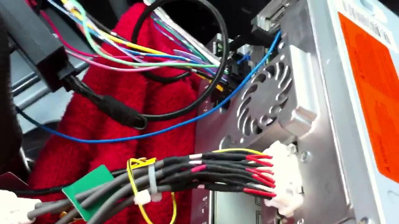 Audi A4 Radio Install Pioneer Avic X930bt