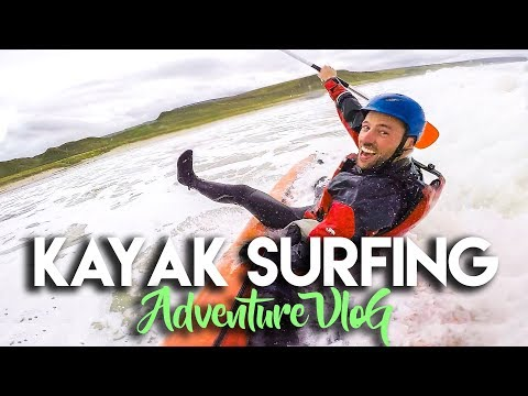 KAYAK SURFING IN ARGYLL, SCOTLAND | ADVENTURE TRAVEL VLOG
