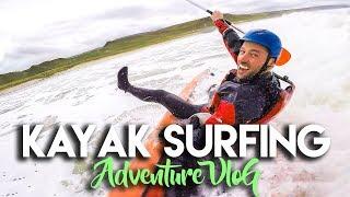 KAYAK SURFING IN ARGYLL, SCOTLAND | ADVENTURE TRAVEL VLOG