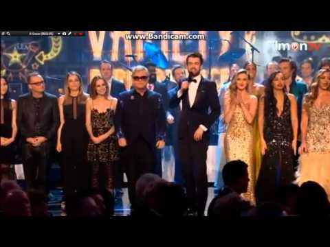 All performers from the Royal Variety Performance 2015 on stage (one direction & little mix) LQ