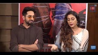 Film 'Andhadhun' Starcast Exclusive Interview | Ayushmann Khurrana | Tabu | Radhika Apte