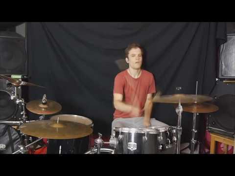 Drum Cover - 001 - Auf beiden Beinen - Lotte