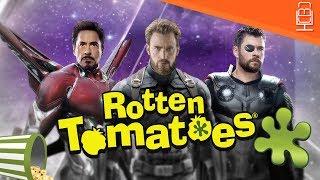 Avengers Infinity War Rotten Tomatoes Revealed