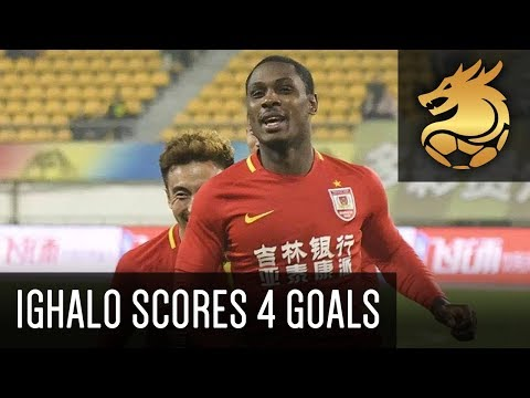Odion Ighalo scores 4 goals for Changchun Yatai! | Guizhou Hengfeng 2 - 5 Changchun Yatai (HD)