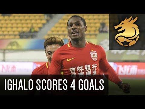 Odion Ighalo scores 4 goals for Changchun Yatai! | Guizhou Hengfeng 2 - 5 Changchun Yatai (HD)