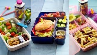 Bento lunchbox ideas افكار لاعداد وجبة فطور  صحيه
