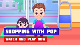 Shopping with Pop Game Gameplay