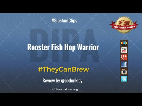 Sip: Rooster Fish Brewing Hop Warrior Imperial IPA