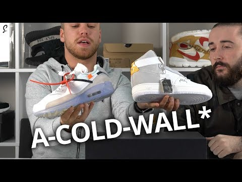 A-COLD-WALL* Air Force 1 Review   Boogers & Banter