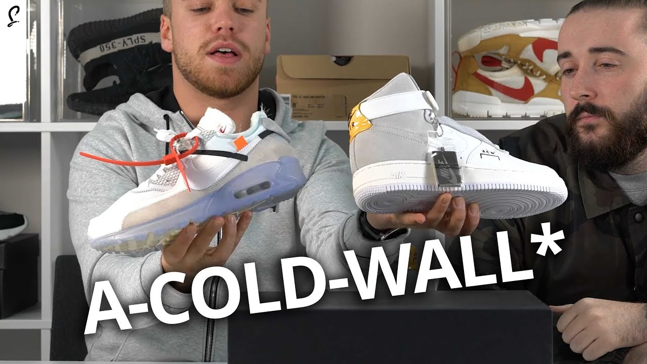 A COLD WALL* x NikeLab Air Force 1 Release Info | HYPEBEAST