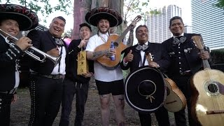 How I surprised Post Malone with a mariachi band thumbnail