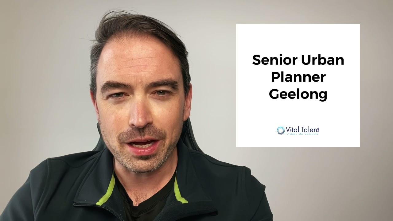 Senior Urban Planner - Geelong