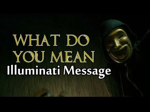What Do Ü Mean ILLUMINATI?