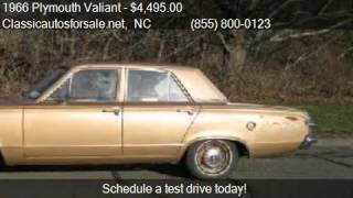 1966 Plymouth Valiant  for sale in Nationwide, NC 27603 at C #VNclassics