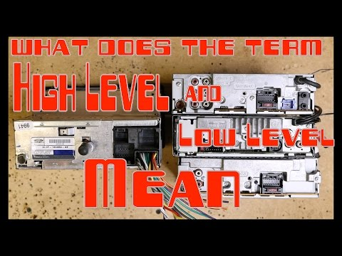 What does High level and Low level mean in car audio? from YouTube · Duration:  3 minutes 48 seconds