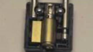Lock Destruction 3 - Masterlock 410 Safety Lockout