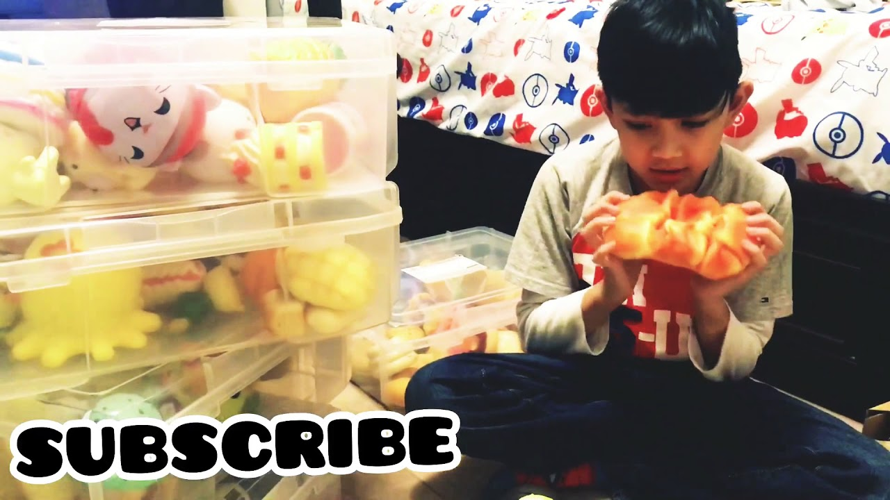 Massive Squishy Collection : HUGE SQUISHY COLLECTION! - YouTube