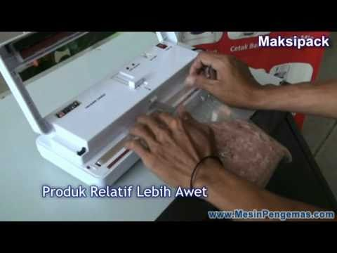 Mesin Vacuum Sealer Manual Maksipack
