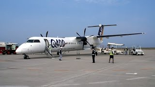 DHC-8-Q400 ??????????2367?  Japanese air commuter flights 2367