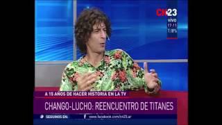 Andy Chango vuelve al programa de Lucho Avilés (18 años después) + YAPA BACKSTAGE