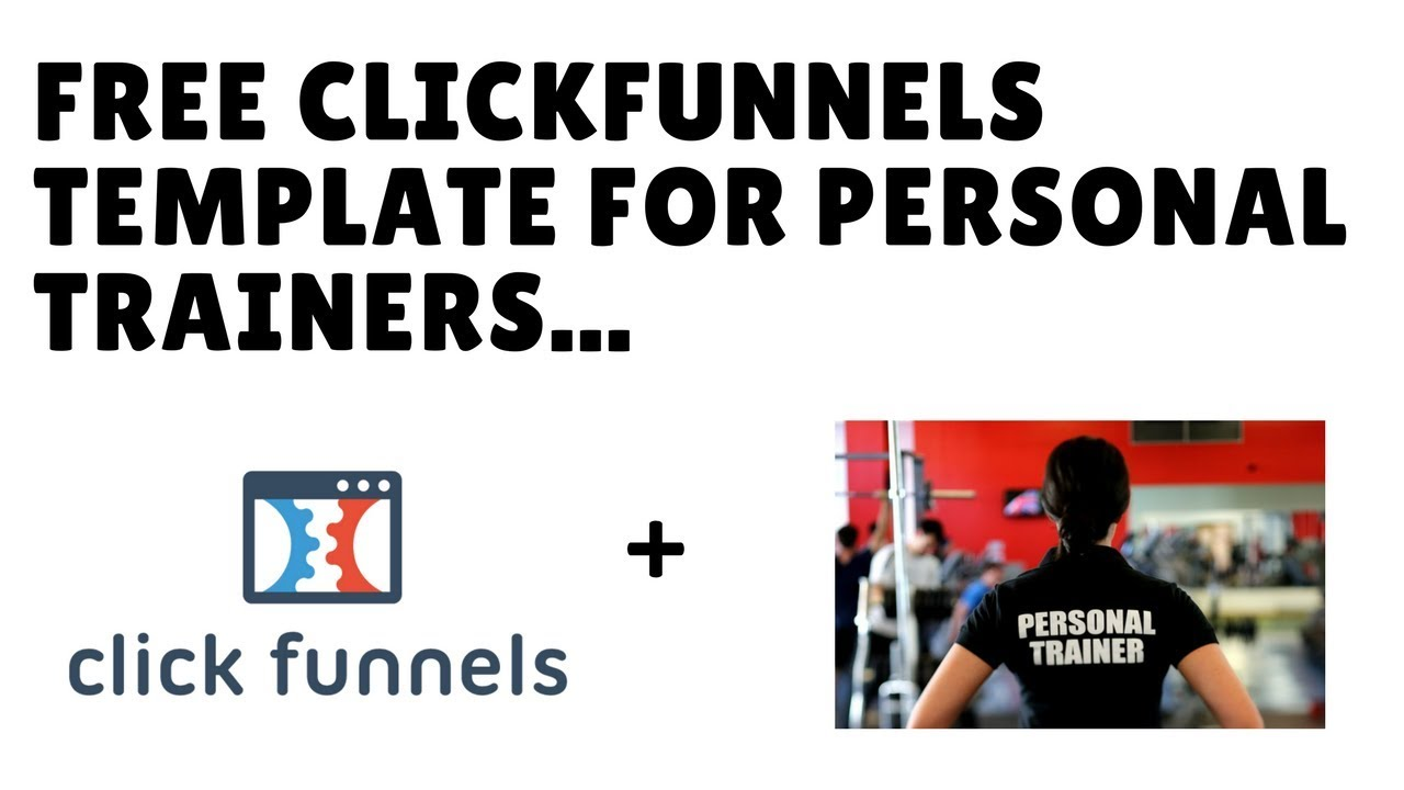 clickfunnels personal training template free share funnel for pts