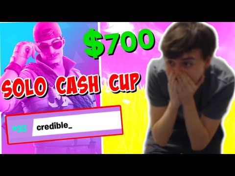 WINNING $700 IN SOLO CASH CUP!   (Fortnite Solo Cash Cup Highlights)