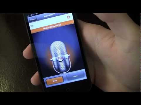 Hullomail Visual Voicemail IPhone App Review