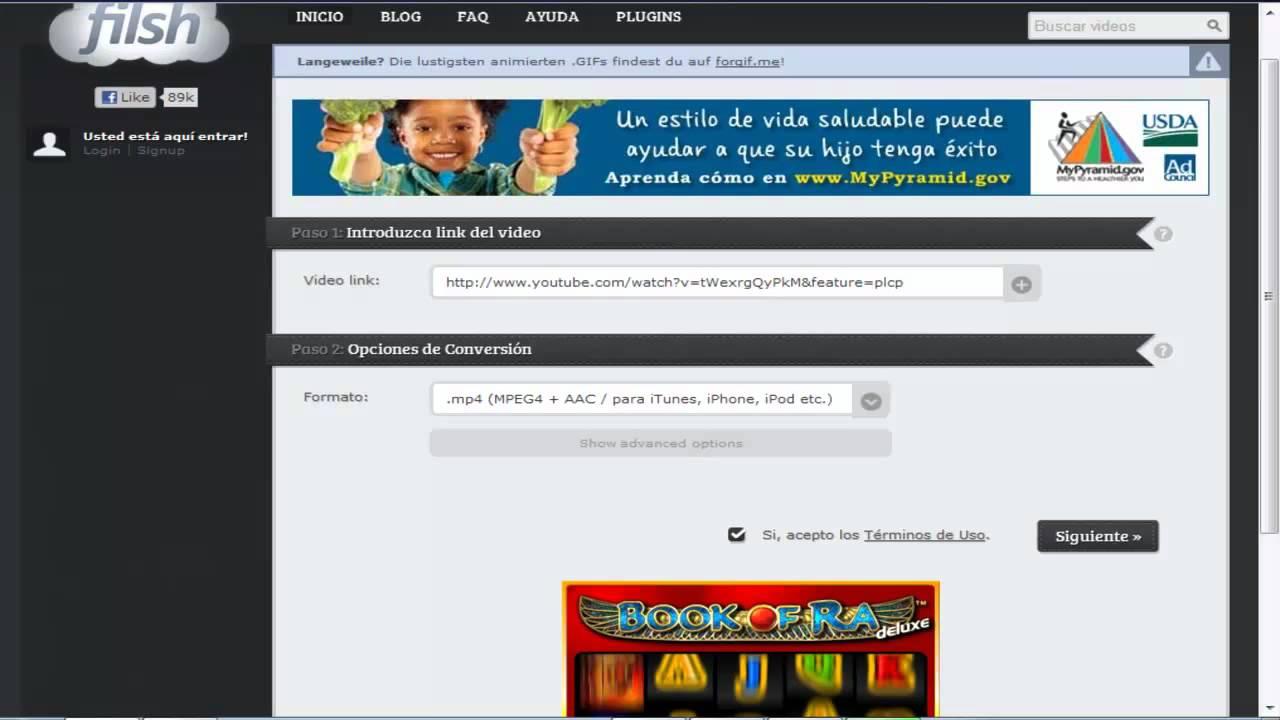 DESCARGAR VIDEOS DE YOUTUBE GRATIS SIN INSTALAR PROGRAMAS MP4