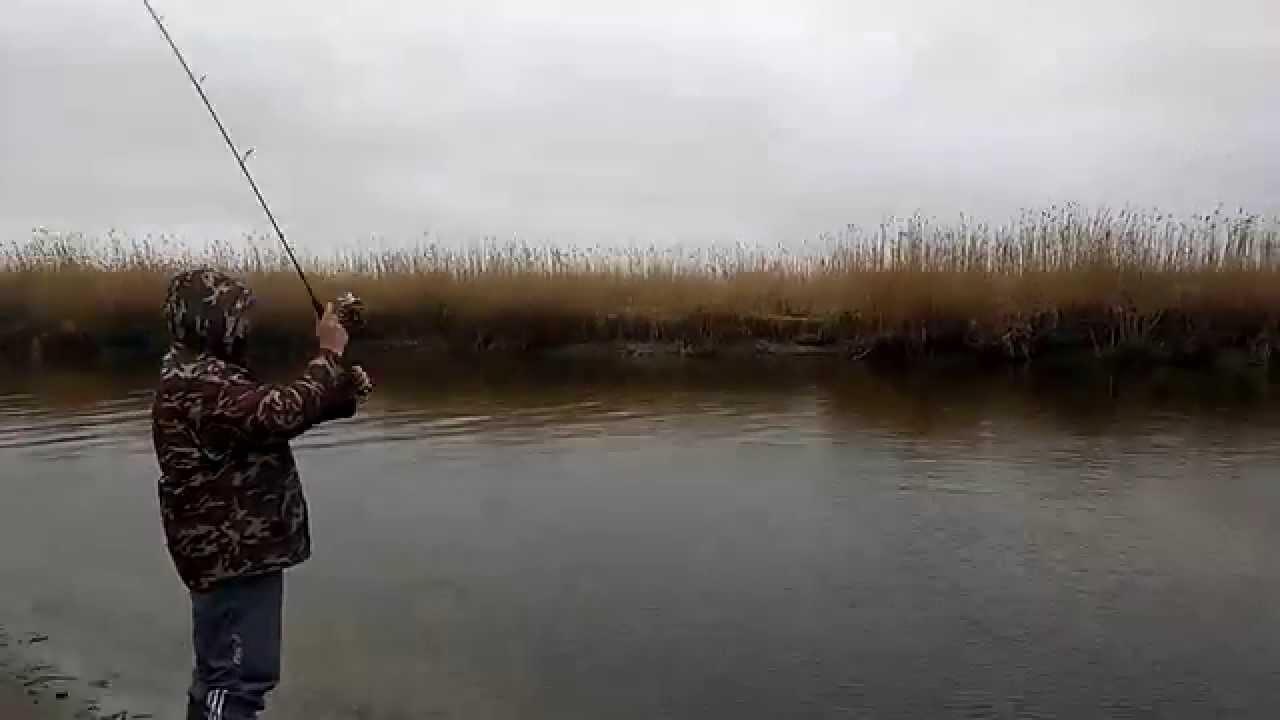 видео ловля на воблер весной