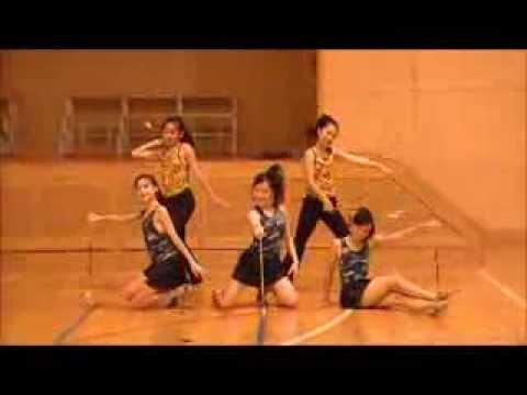 Facemelt/Dirty Love-Baton Twirling Performance