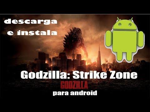 Godzilla: Strike Zone | android game | gratis free | 2014
