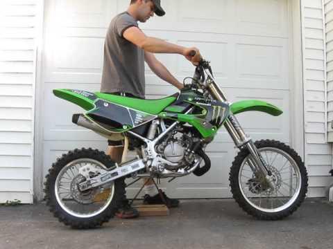 2005 kawasaki kx 85 rebuilt for sale bike is sold youtube. Black Bedroom Furniture Sets. Home Design Ideas