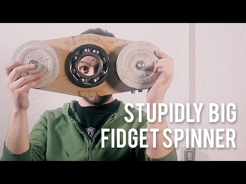 """MASSIVE Fidget spinner """"toy"""""""