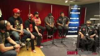 "Tech N9ne and Krizz Kaliko Performing ""Spaz"" Live @ #SwayInTheMorning"