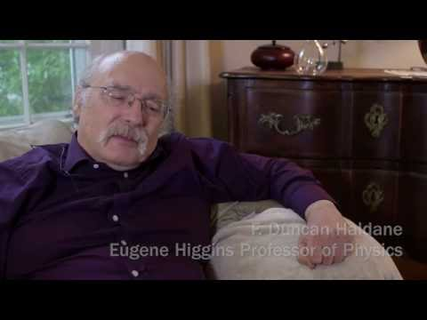 Princeton's F. Duncan Haldane wins Nobel Prize in Physics