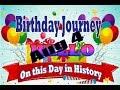Birthday Journey August 4 New
