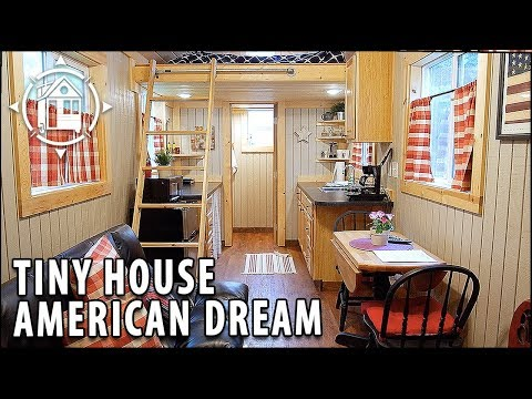 American Dream Tiny House Will NOT Make You Claustrophobic!