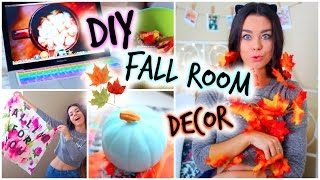 Diy Fall Room Decor! Easy Ways To Decorate & Make It Cozy!