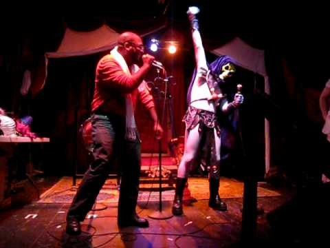 Skeletor Karaoke Gong Show at Trocadero - Easy Lover by Phil Collins & Philip Bailey