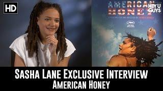 Sasha Lane Exclusive Interview - American Honey